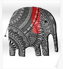 BestSelling Graphic Tsirt Decorated Elephant Poster