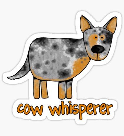 Cow Whisperer Sticker