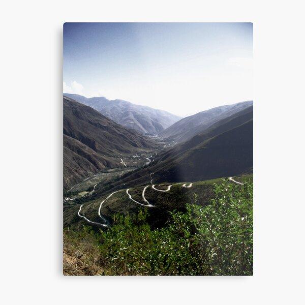 Mountain Trail Metal Print