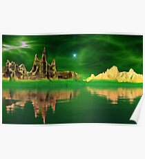 Emerald Castle - Emerald Skies Poster