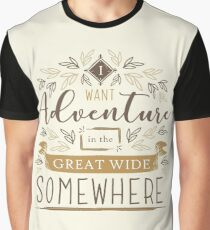 Beauty And The Beast Quote Graphic T-Shirt