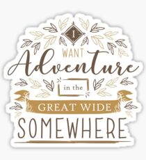 Beauty And The Beast Quote Sticker