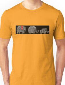3 elephants Unisex T-Shirt