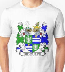Biddulph Coat of Arms Unisex T-Shirt