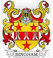 Bingham Coat of Arms Poster