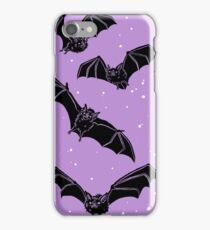 Batty in Violet iPhone Case/Skin