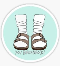 You Birkenrock Mint  Sticker