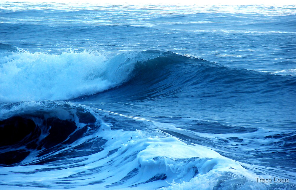 Blue Waves of Glory by Trace Lowe