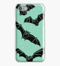 Batty in Mint iPhone Case/Skin