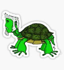 Aged Turtle Sticker