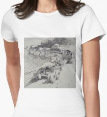 Italy 1943. Women's Fitted T-Shirt