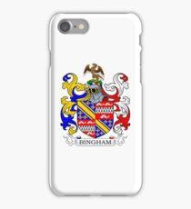 Bingham Coat of Arms iPhone Case/Skin
