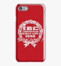 IBC Christmas Line Up- RED iPhone Case/Skin