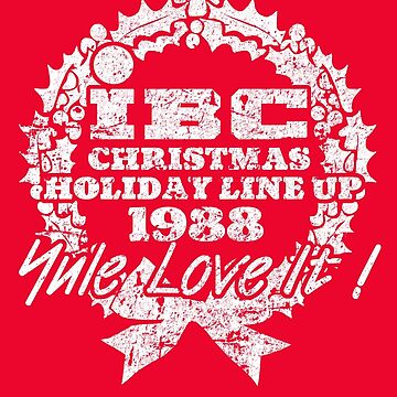 IBC Christmas Line Up- RED by Robiberg