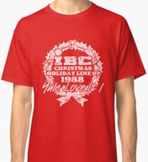 IBC Christmas Line Up- RED Classic T-Shirt