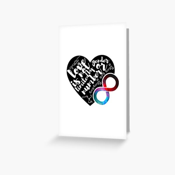 Polyamory Pride  Greeting Card