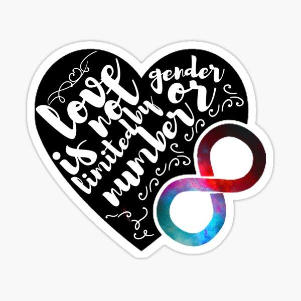 Polyamory Pride  Sticker