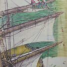 Age of sail. by Mike Jeffries