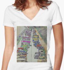 Traffic 1965. Women's Fitted V-Neck T-Shirt