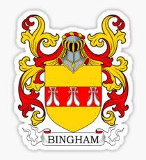 Bingham Coat of Arms Sticker