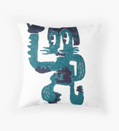 High Five Throw Pillow