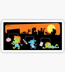 Zombie Races Sticker