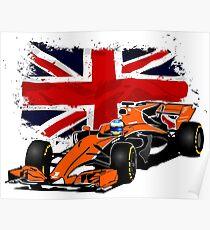 Formula 1 Racing  Poster
