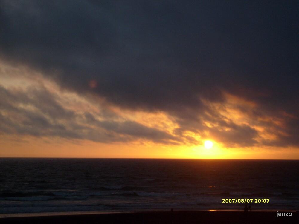 sunset by jenzo