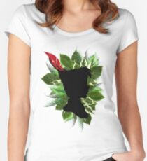 Peter Pan Feather Women's Fitted Scoop T-Shirt