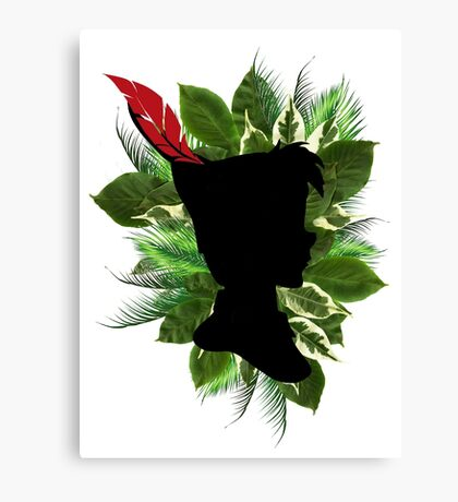 Peter Pan Feather Canvas Print