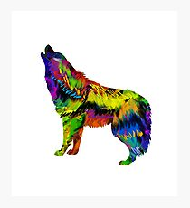 Wolf Song Photographic Print