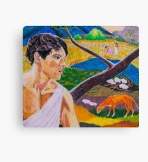 Colin Morgan - Paul Gauguin Art Challenge Canvas Print