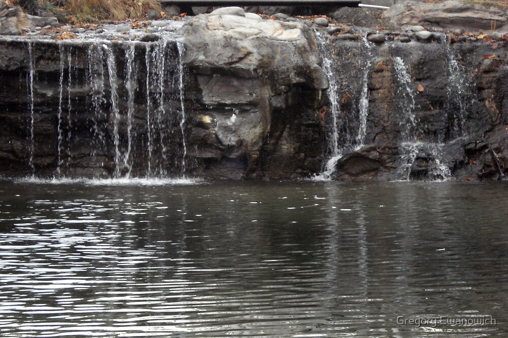 The Face In The falls by Gregory Ewanowich