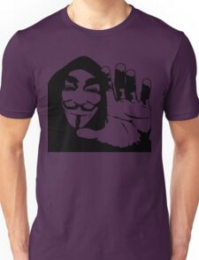 Hand Face Unisex T-Shirt