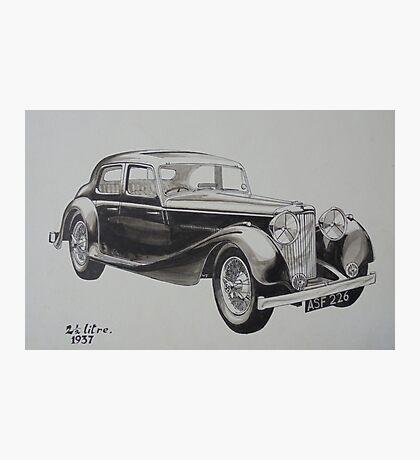 My old Jaguar. Photographic Print