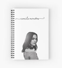 Camila Mendes + Cursive Spiral Notebook