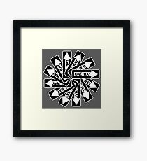 One-way All Around Framed Print