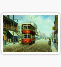 Stockport tram. Sticker