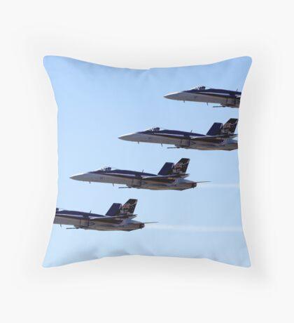 FA-18 Hornets Throw Pillow