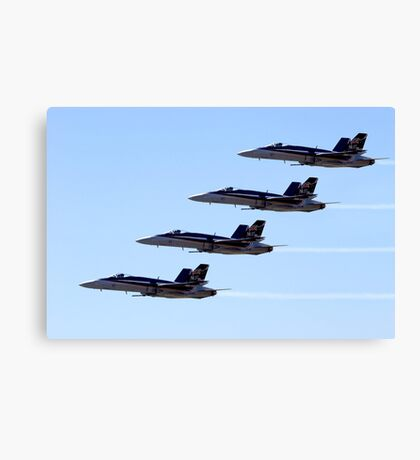 FA-18 Hornets Canvas Print