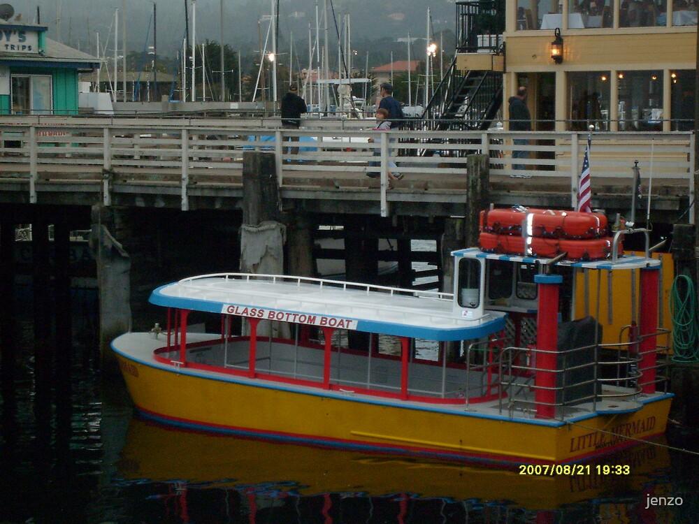 glass bottom boat by jenzo