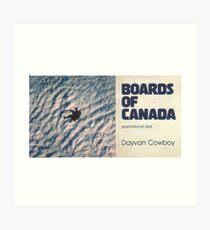 CONSEILS DU CANADA DAVYAN COWBOY Impression artistique