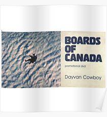 BOARDS OF CANADA DAVYAN COWBOY Poster