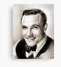 Gene Kelly, Vintage Hollywood Legend Canvas Print