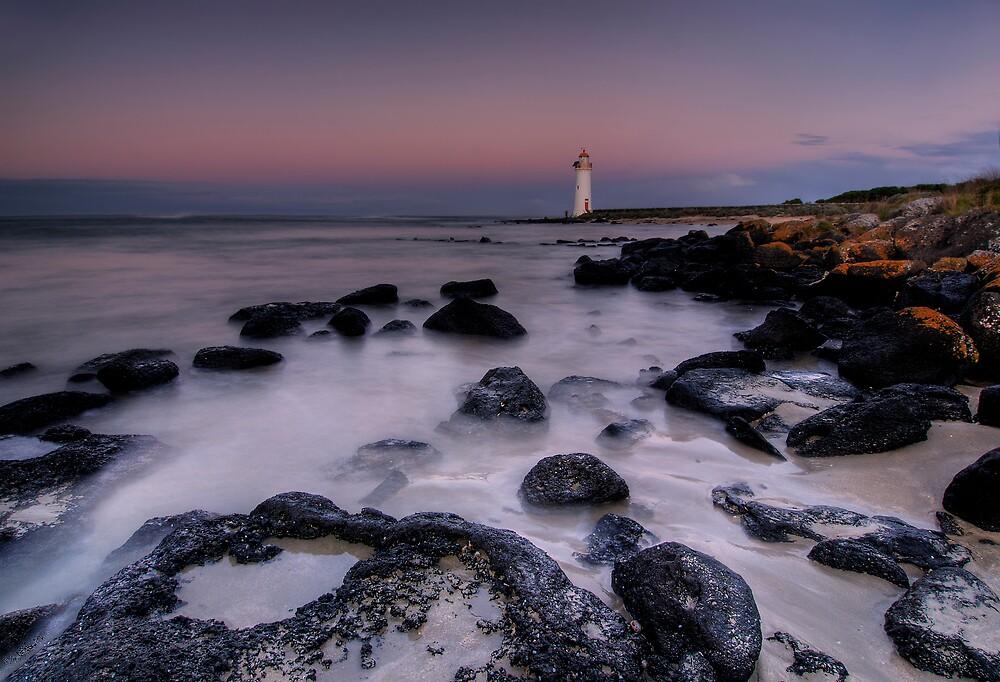 Griffiths Island Lighthouse by Robert Mullner