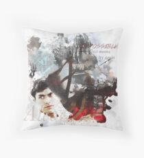 Alec Lightwood Collage  Throw Pillow