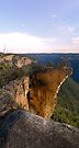 Hanging Rock near Blackheath in the Lords Beautifuly Created Blue Mountains Australia by STEPHEN GEORGIOU PHOTOGRAPHY