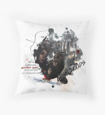 The Lightwoods Collage  Throw Pillow