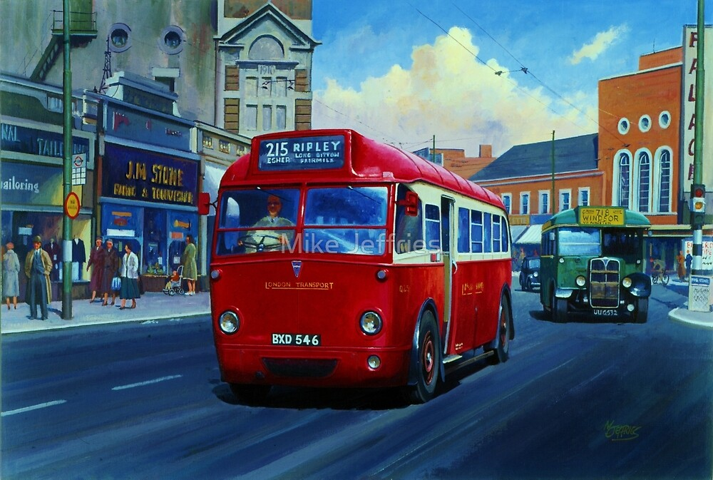 London Transport's AEC Q type by Mike Jeffries