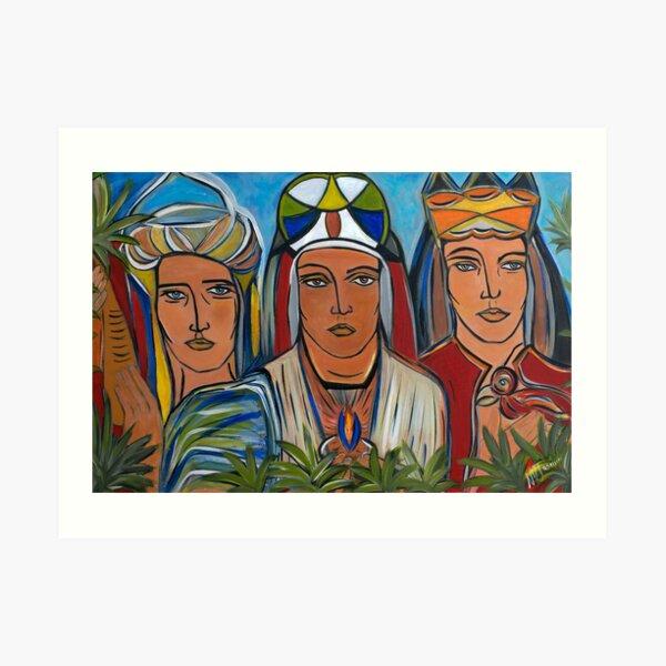 armonia ,esperanza y libertad Art Print